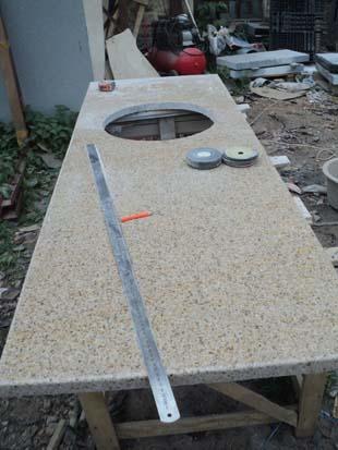 изготовление столешниц из натурального камня для кухонного гарнитура