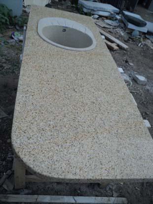 изготовление столешницы из натурального камня для кухонного гарнитура