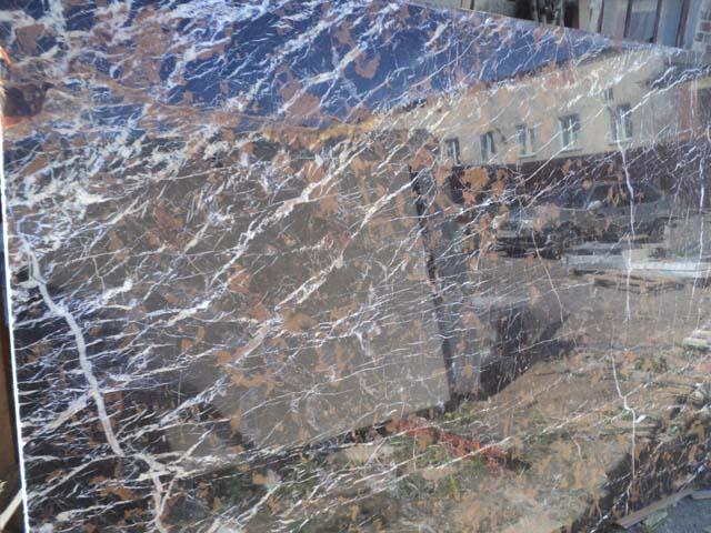 мраморный слэб для облицовки камина